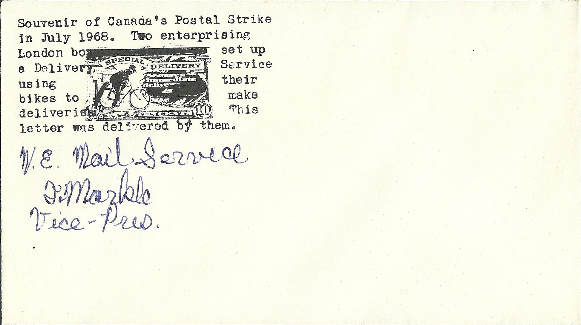 W-E-Mail-Service-London-Canada-Ontario-post-strike-1968-envelope