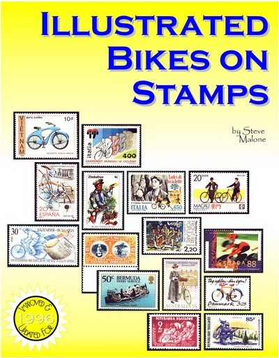 Cover of Illustrated Bikes on Stamps