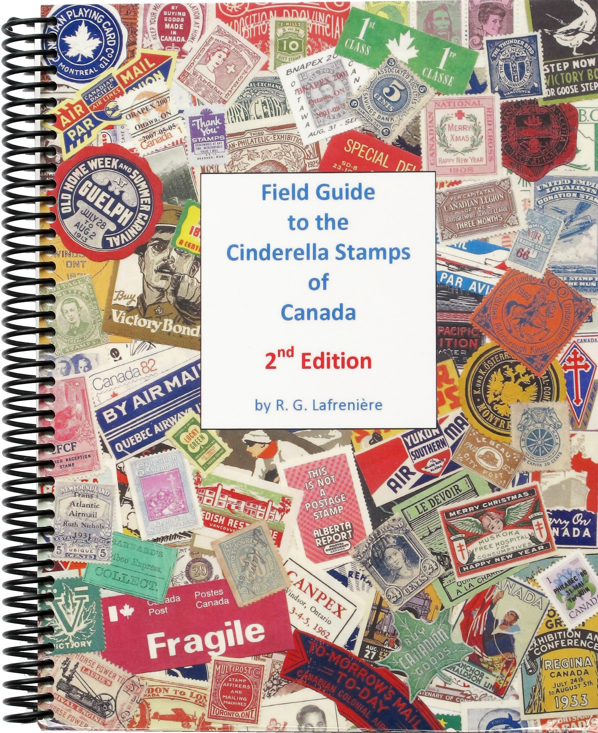 Cover of Field Guide to the Cinderella Stamps of Canada